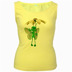 Fly 4 Womens  Tank Top (yellow)