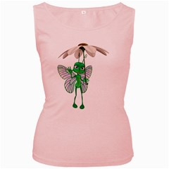 Fly 4 Womens  Tank Top (Pink)
