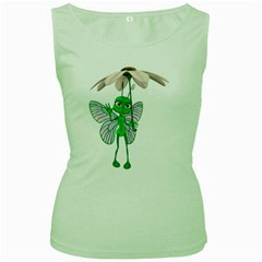 Fly 4 Womens  Tank Top (Green)
