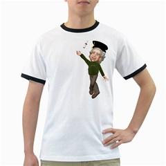 Einstein 1 Mens' Ringer T-shirt