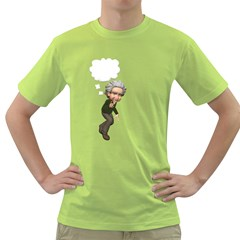 Einstein 2 Mens  T-shirt (Green)
