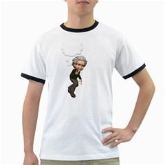 Einstein 2 Mens' Ringer T-shirt