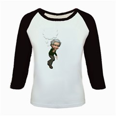 Einstein 2 Women s Long Cap Sleeve T Shirt