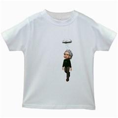 Einstein 3 Kids' T-shirt (White)