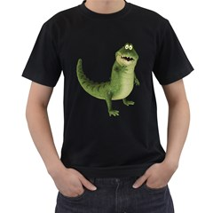 Toon Croco Mens' Two Sided T Shirt (black)