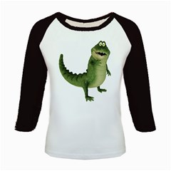 Toon Croco Women s Long Cap Sleeve T-Shirt