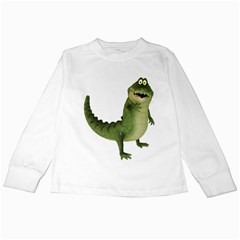 Toon Croco Kids Long Sleeve T Shirt