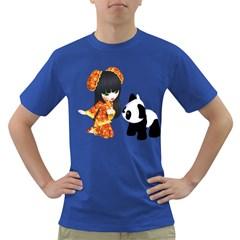 Kawaii China Girl 1 Mens' T Shirt (colored)