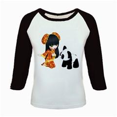 Kawaii China Girl 1 Women s Long Cap Sleeve T-Shirt