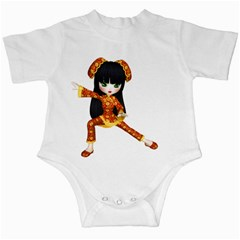 Kawaii China Girl 2 Infant Creeper
