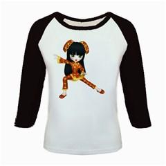 Kawaii China Girl 2 Women s Long Cap Sleeve T-Shirt