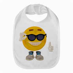 Holiday Smiley Bib