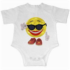 Holiday Woman Smiley Infant Creeper