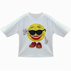 Holiday Woman Smiley Baby T-shirt