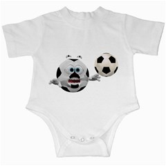Soccer Smiley Infant Creeper
