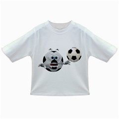 Soccer Smiley Baby T Shirt