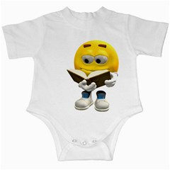 Book Smiley Infant Creeper
