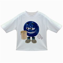 Beer Smiley Baby T-shirt