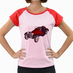 Old Timer Women s Cap Sleeve T-Shirt (Colored)