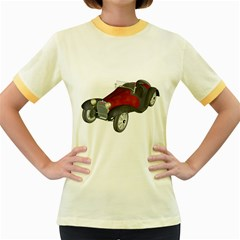 Old Timer Womens  Ringer T-shirt (Colored)