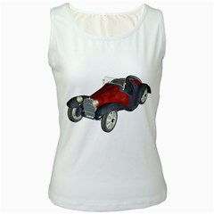 Old Timer Womens  Tank Top (white)
