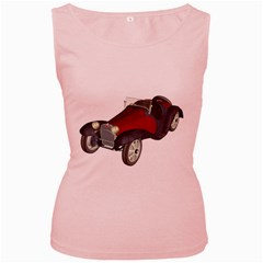 Old Timer Womens  Tank Top (Pink)
