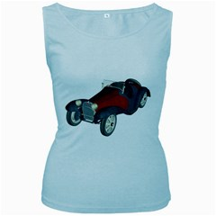 Old Timer Womens  Tank Top (Baby Blue)