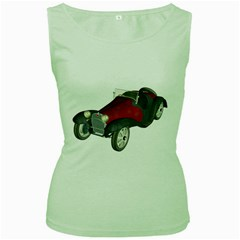 Old Timer Womens  Tank Top (Green)