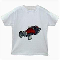 Old Timer Kids' T Shirt (white)