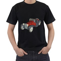 Old Timer Mens' Two Sided T-shirt (Black)
