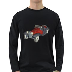 Old Timer Mens' Long Sleeve T-shirt (Dark Colored)
