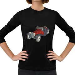 Old Timer Womens' Long Sleeve T-shirt (Dark Colored)