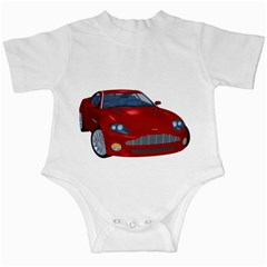 Red Sport Car 1 Infant Creeper