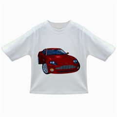 Red Sport Car 1 Baby T-shirt