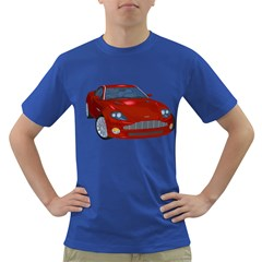 Red Sport Car 1 Mens' T Shirt (colored)