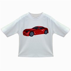 Red Sport Car 2 Baby T-shirt