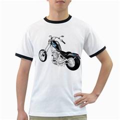 Motorbike Mens' Ringer T-shirt