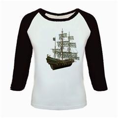Pirate Ship 1 Women s Long Cap Sleeve T-Shirt