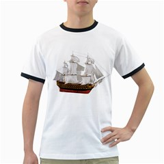 Ship 1 Mens' Ringer T-shirt