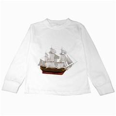 Ship 1 Kids Long Sleeve T-Shirt