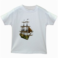 Ship 2 Kids' T-shirt (White)