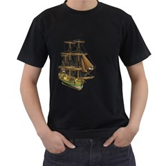 Ship 2 Mens' T-shirt (Black)