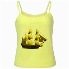 Ship 3 Yellow Spaghetti Tank