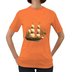 Ship 3 Womens' T-shirt (Colored)