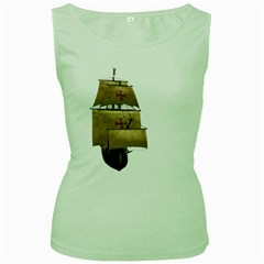 Ship 4 Womens  Tank Top (green)