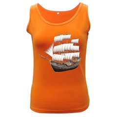 Ship 5 Womens  Tank Top (Dark Colored)