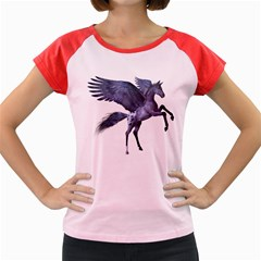 Flying Pony 1 Women s Cap Sleeve T-Shirt (Colored)