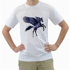 Flying Pony 1 Mens  T Shirt (white)