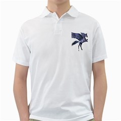 Flying Pony 1 Mens  Polo Shirt (White)