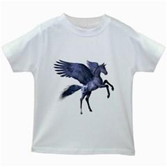 Flying Pony 1 Kids' T-shirt (White)